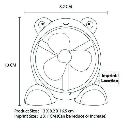 Computer Animal Cartoon USB Fan