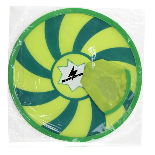 Play Style Foldable Frisbee Fan With Pouch