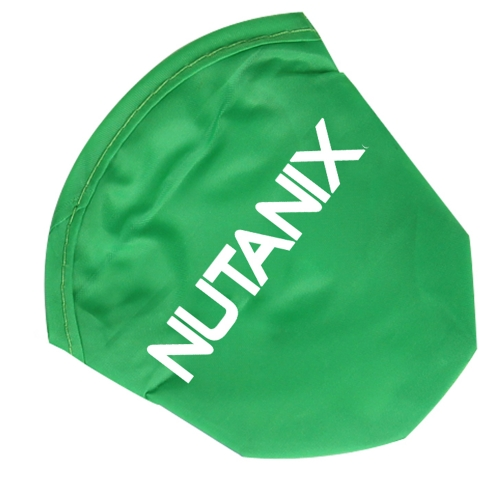 Foldable Polyester Frisbee With Pouch