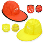 Foldable Baseball Flat Cap With Pouch