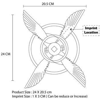 Flying Eagles Boomerang Frisbee