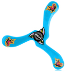 Zebra 3 Winged Boomerang