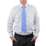 Smooth Formal Stripe Necktie