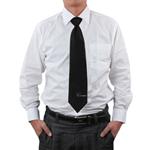 Classic Men Silk Plan Tie