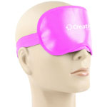Shiny Sleeping Shade Mask With Velcro