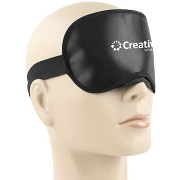 Shiny Sleeping Shade Mask With Velcro