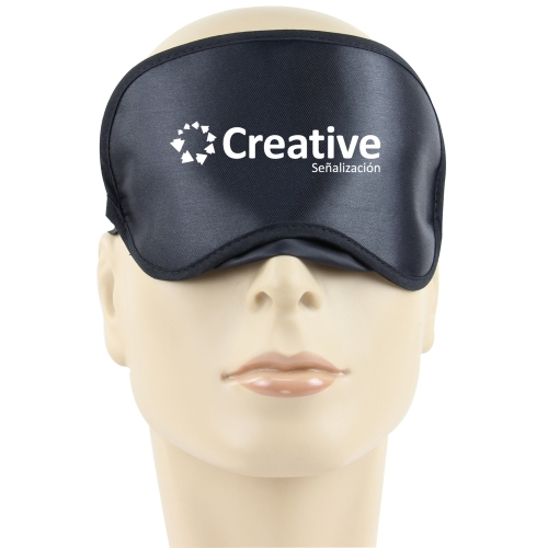 Shiny Sleeping Shade Mask With Velcro Image 3