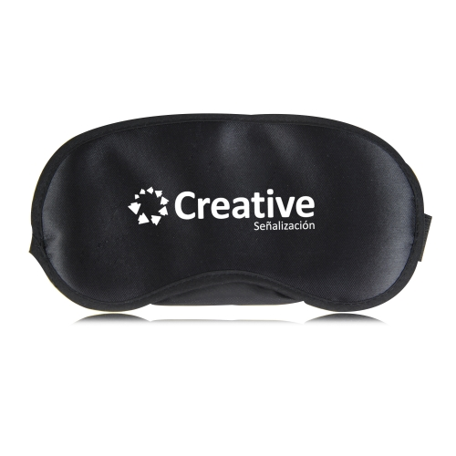 Shiny Sleeping Shade Mask With Velcro Image 5