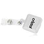 Square Extendable Plastic Badge Reel