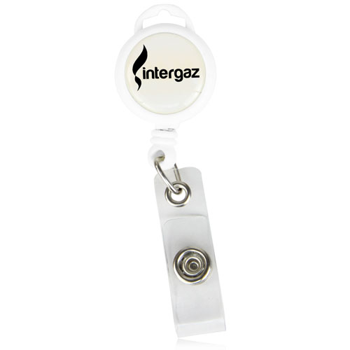 Premier Round Badge Reel