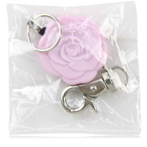 Rose Retractable Badge Holder