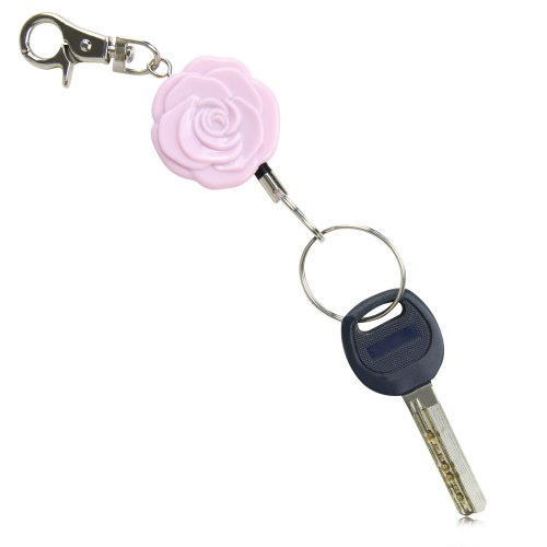 Rose Retractable Badge Holder
