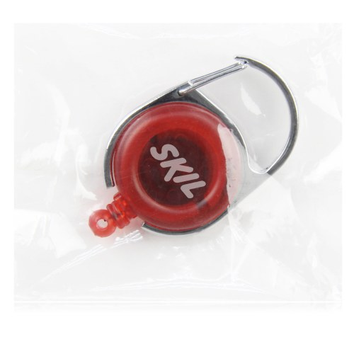 Carabiner Style Retractable Badge Reel