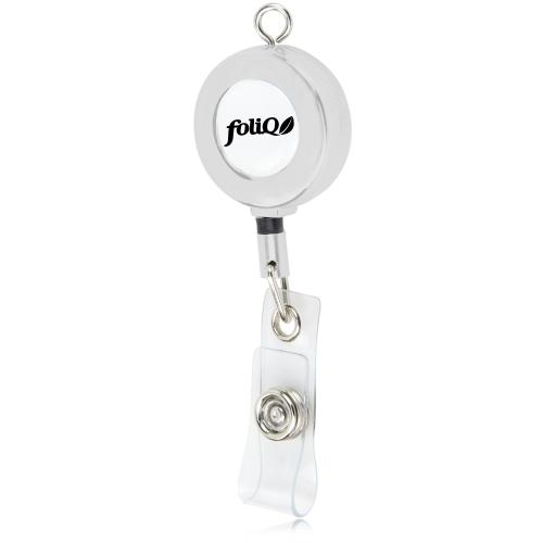 Metal Badge Reel With Eye Loop