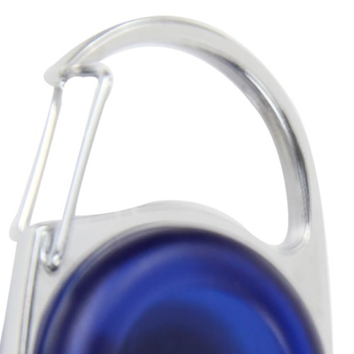 Carabiner Retractable Reel With Vinyl Strap