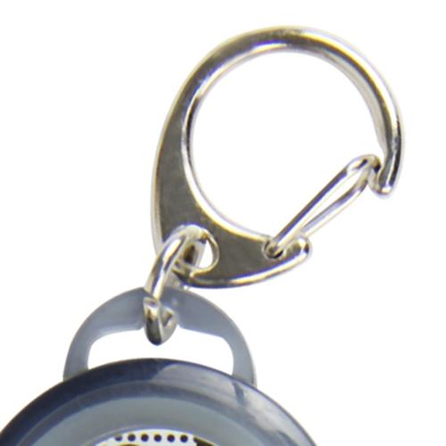 Retractable Round Split Keyring Reel