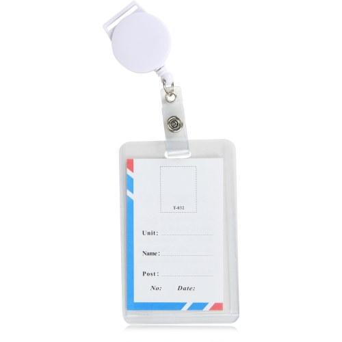 Round ID Badge Holder
