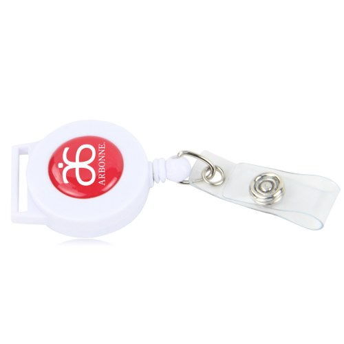 Round ID Badge Holder
