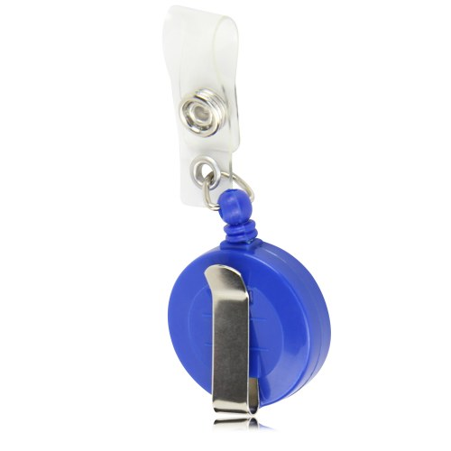 Round Retractable ID Badge Holder Image 5