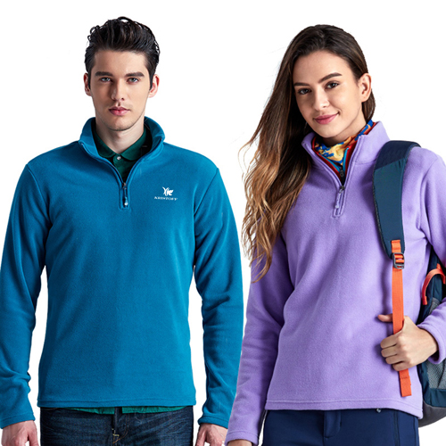 Polar Fleece Zip Pullover Jacket Image 2