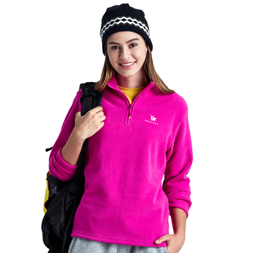 Polar Fleece Zip Pullover Jacket Image 3