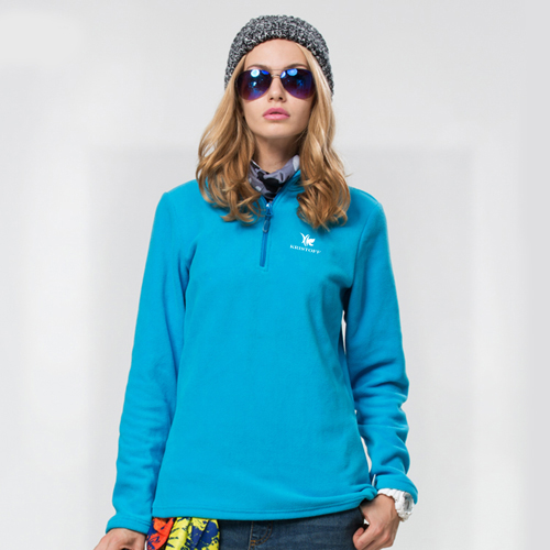 Polar Fleece Zip Pullover Jacket Image 5