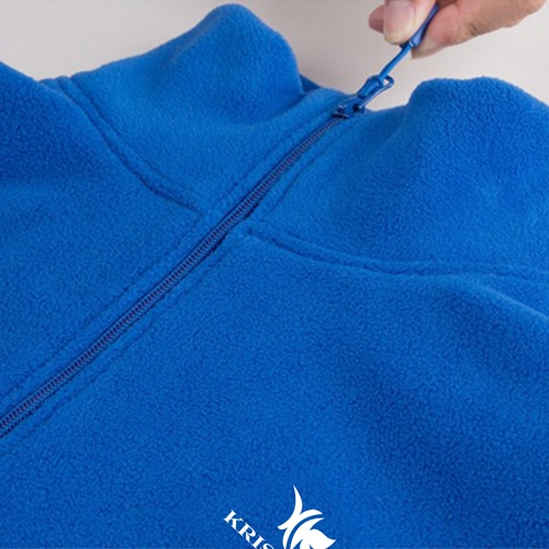Polar Fleece Zip Pullover Jacket Image 6