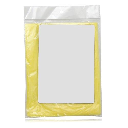 Disposable Reusable Rain Poncho Image 9