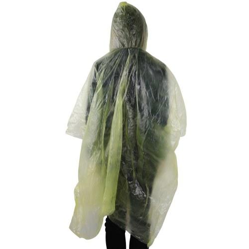Disposable Reusable Rain Poncho Image 3