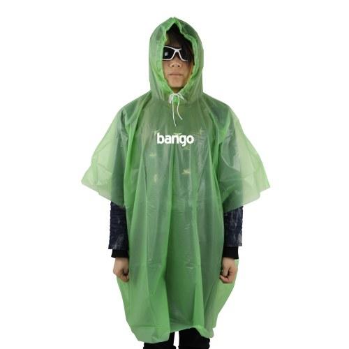 Kids Rain Poncho With Hood