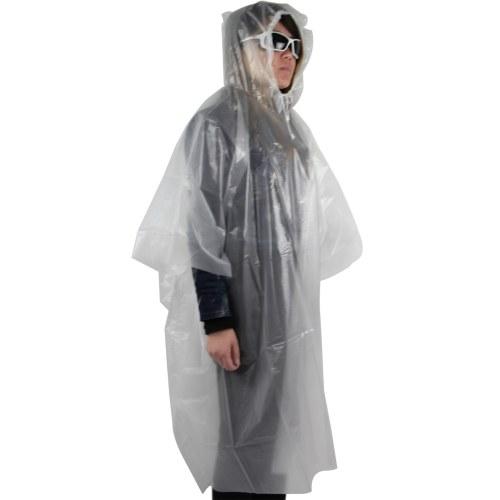 Translucent Rainwear Poncho