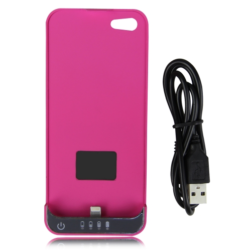 2200MA iPhone 5 / 5s 8 Pin External Battery Backup Case