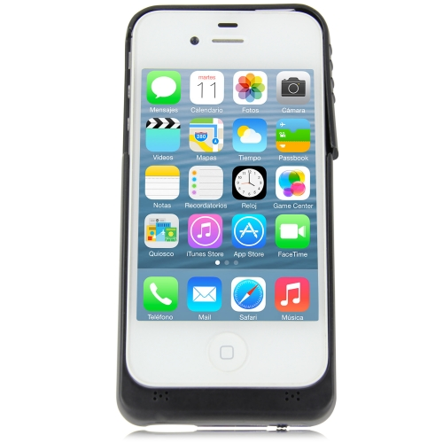 1900mAh iPhone 4 / 4S External Rechargeable Battery Juice Pack Shell