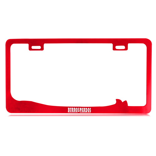 Chrome Aluminum License Plate Frame