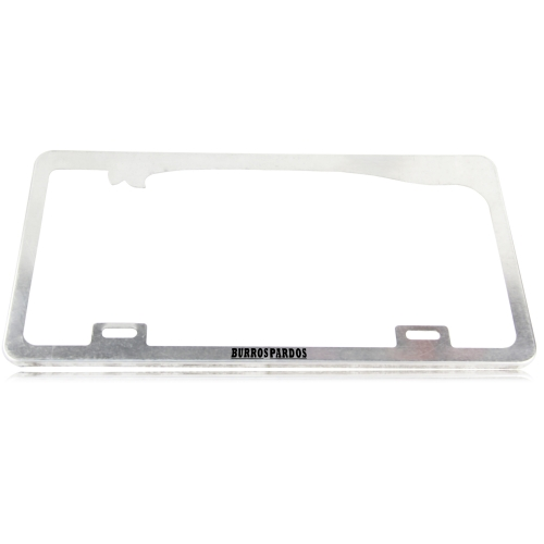Chrome Aluminum License Plate Frame Image 5
