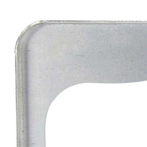 Chrome Aluminum License Plate Frame Image 8