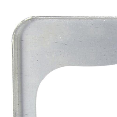 Chrome Aluminum License Plate Frame