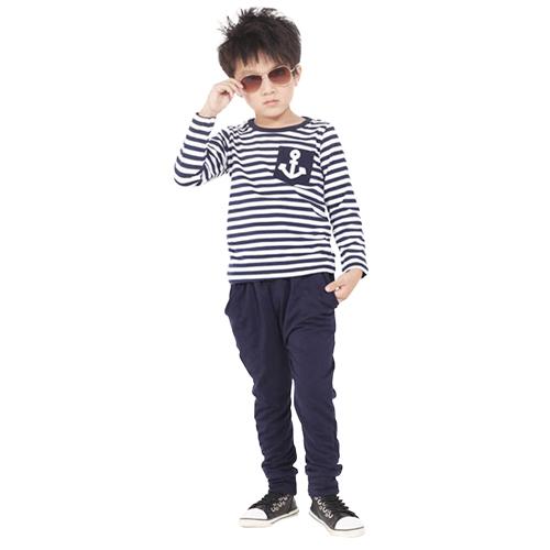 Kids Striped Cotton T-Shirt