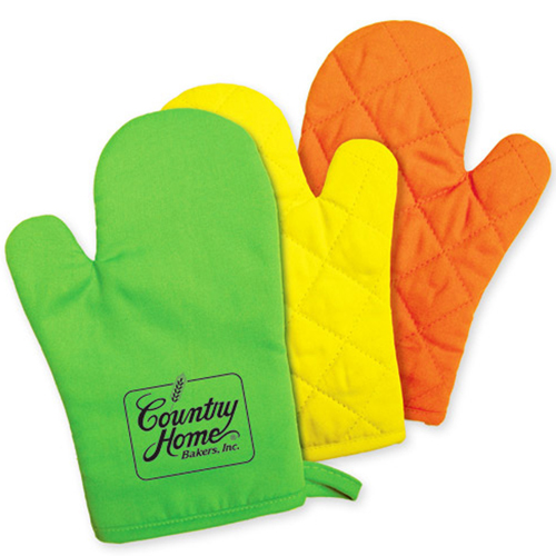 Cotton Padded Oven Glove