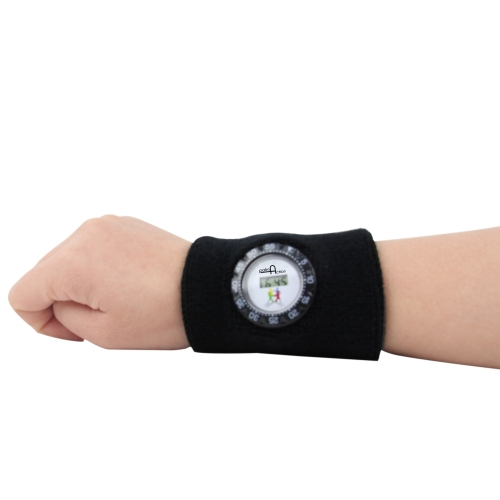 Digital Watch Sweatband Image 3