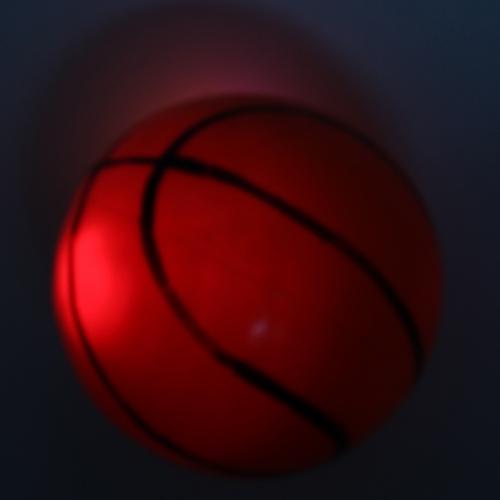 Mini Basketball Flash Light Ball Image 3