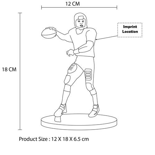 Custom Sports Player Resin Doll