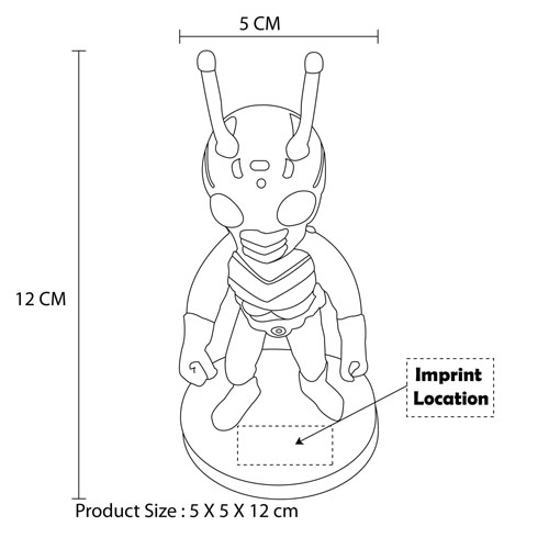 Your Logo Shaped Resin Doll