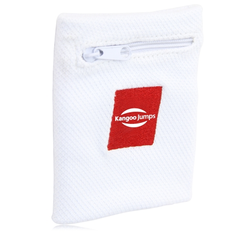 Wrist Wallet Sweatband Image 1