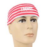 Stripe Design Sweat Headbands
