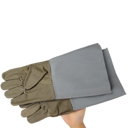 Leather Padded Gloves