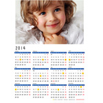 Full Coated Paper Wall Calendar