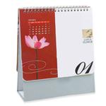 13 Page Spiral Desk Calendar