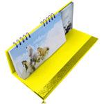 Weekly Desktop Calendar With Notepad