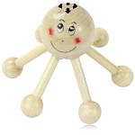 Happy Octopus Wooden Massager